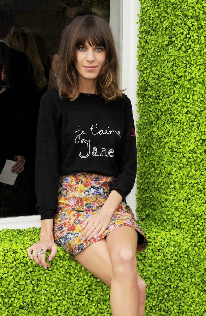 Bicester Village British Designers Collective Launch Hosted By Alexa Chung