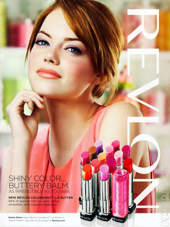 Emma Stone - Revlon Make-up Adverts