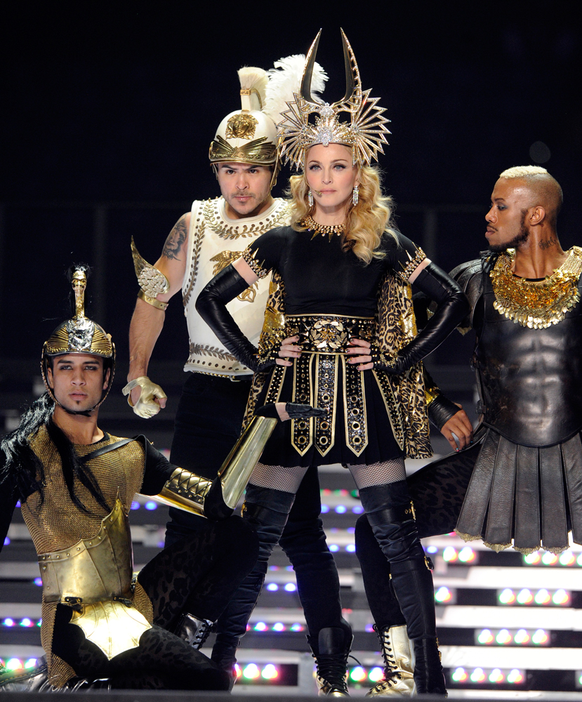 Madonna-in-show