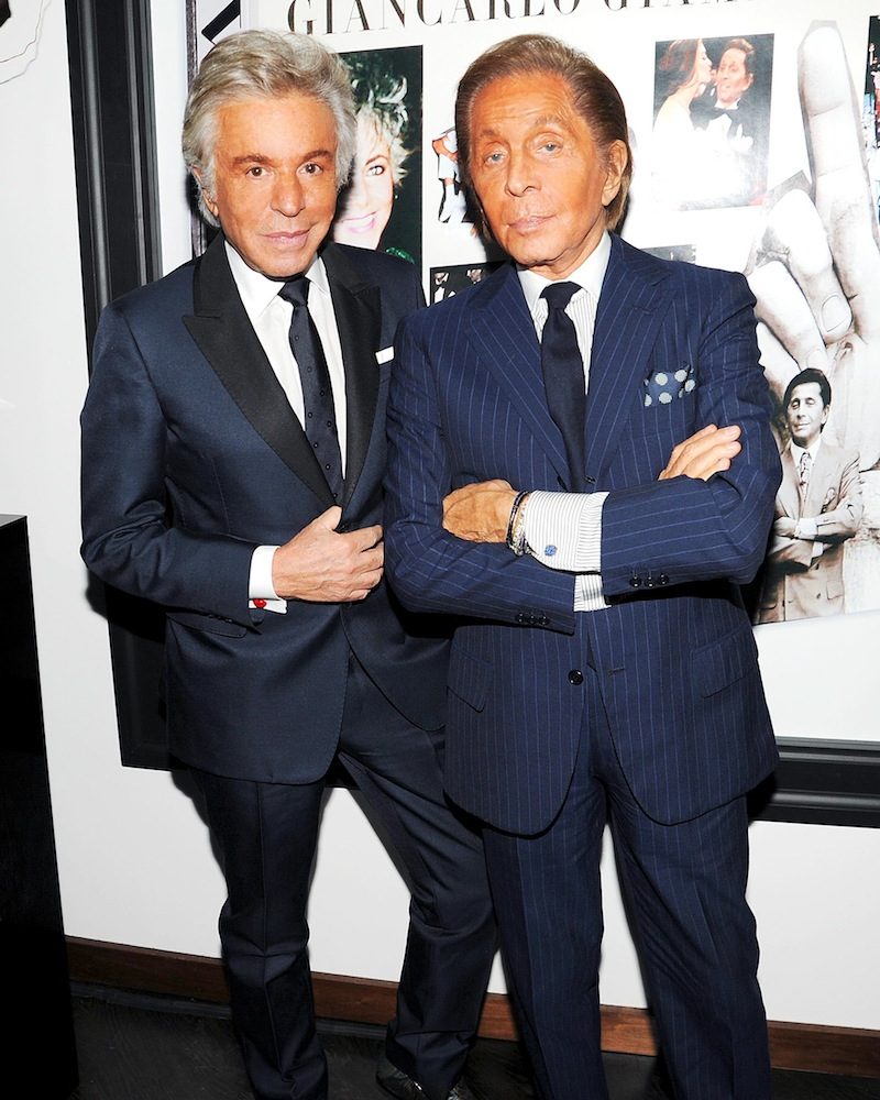 W MAGAZINE Cocktail Party Hosted by STEFANO TONCHI to Celebrate GIANCARLO GIAMMETTI on the Occasion of his New Book Private: Giancarlo Giammetti