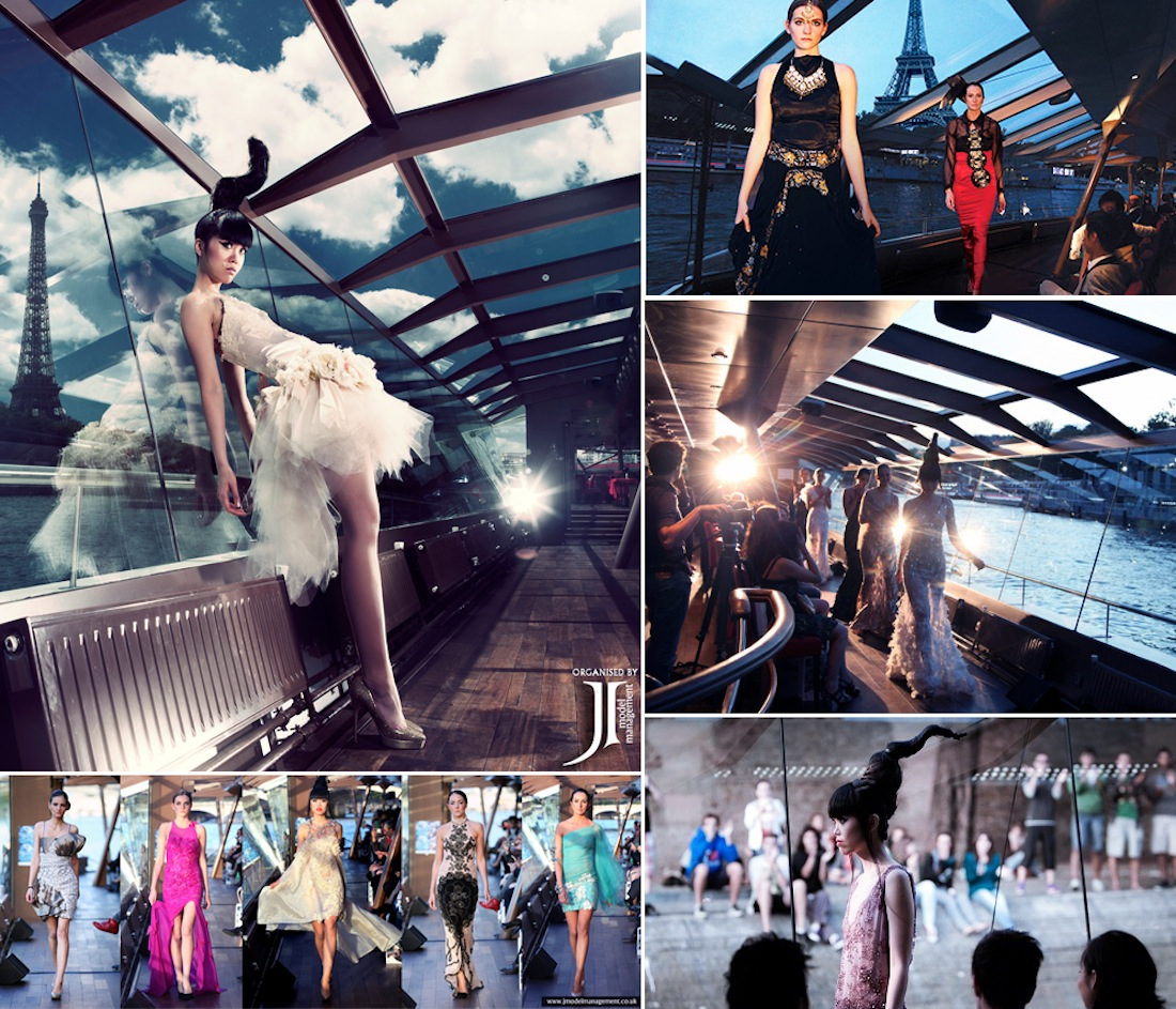 J Summer Fashion Show on the Seine Paris by Jessica Minh Anh
