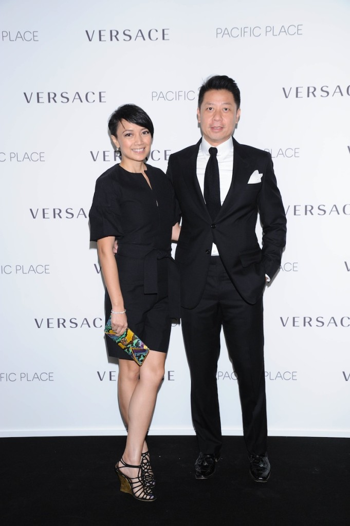 (L to R) Ms. Winnie Young and her husband Mr. Simon Wong
