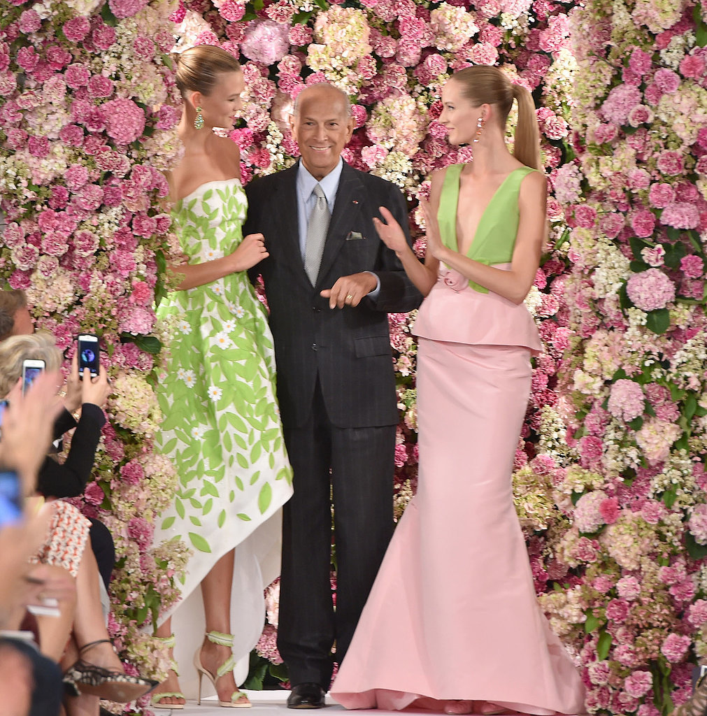 Oscar-de-la-Renta-takes-bow-his-last-runway-show-September