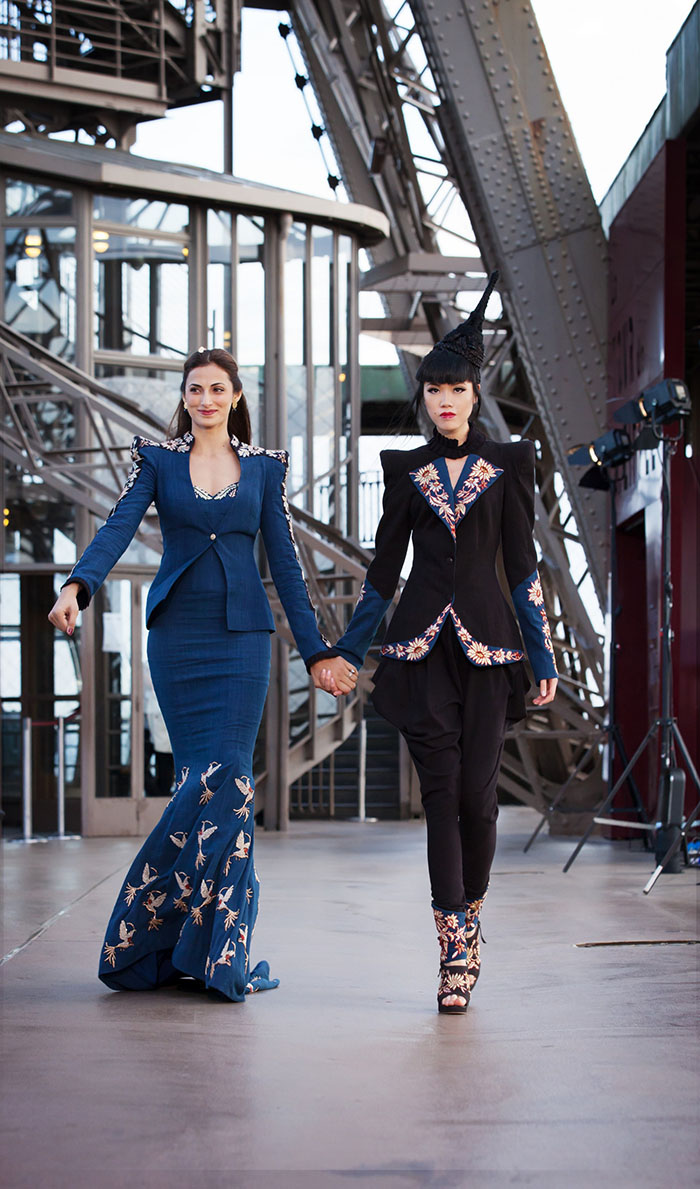 Jessica Minh Anh and Shilpa Reddy