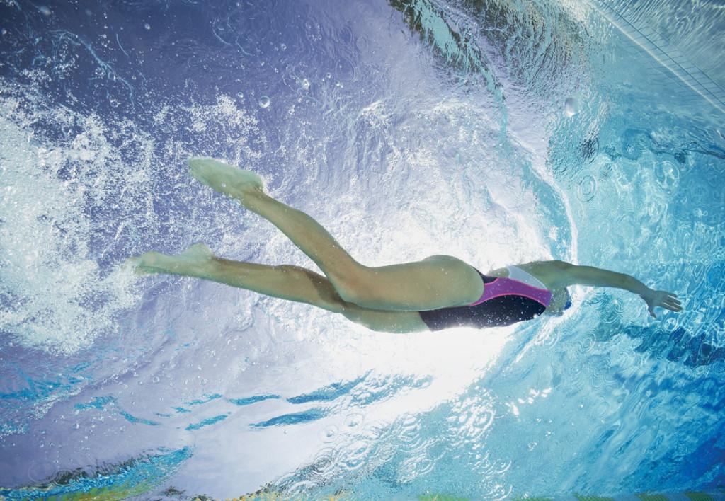 Bơi là môn thể thao hữu hiệu giúp giảm bệnh sần vỏ cam