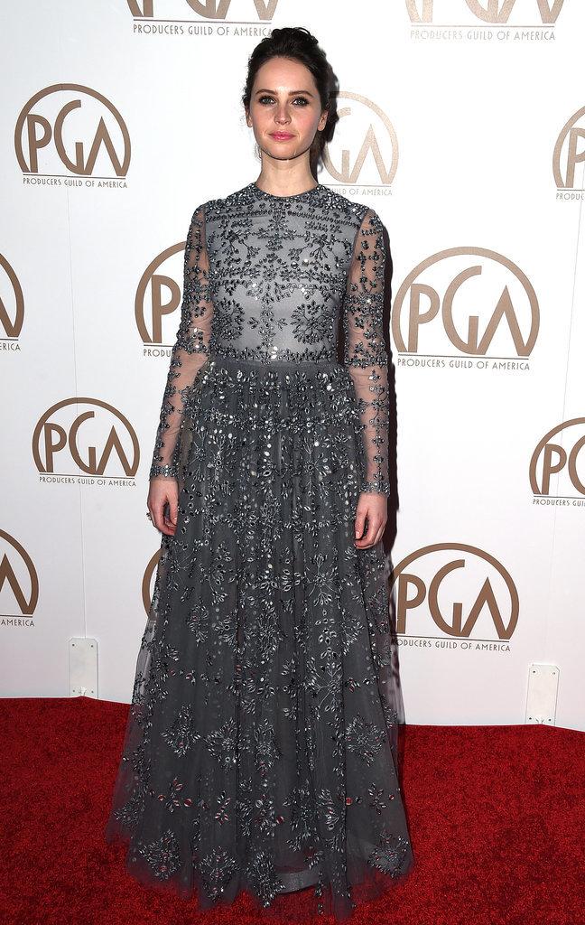 Felicity-Jones-PGA2015-dressed