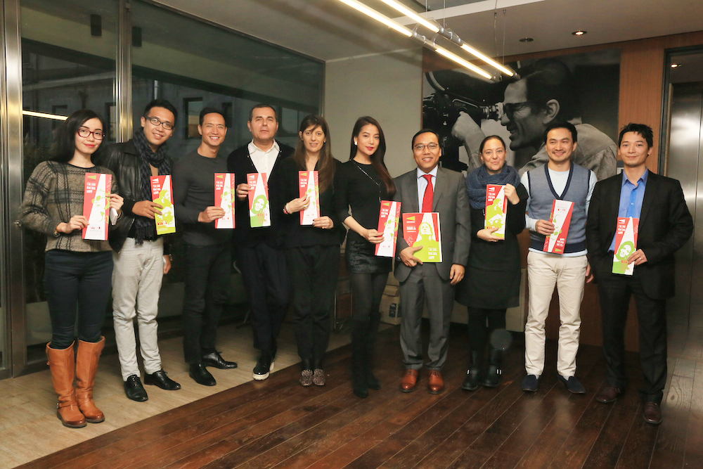 Kim Ly, dai dien Gattinoni, Fabia, Truong Ngoc Anh, dai su Viet Nam tai Italy