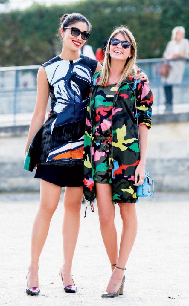 Họa tiết in cuốn hút các fashionista