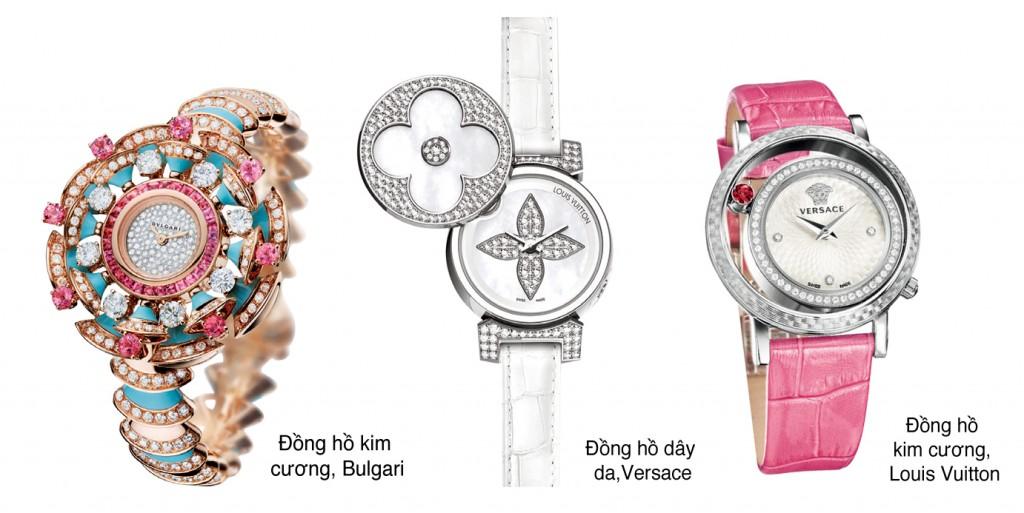 Một chiếc đồng hồ hoa văn tinh xảo là điểm nhấn sang trọng và đẳng cấp cho bộ trang phục của bạn.