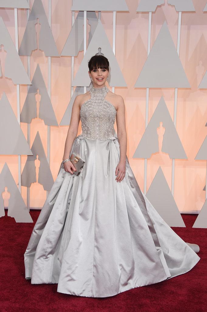 Felicity Jones tại Oscar 2015