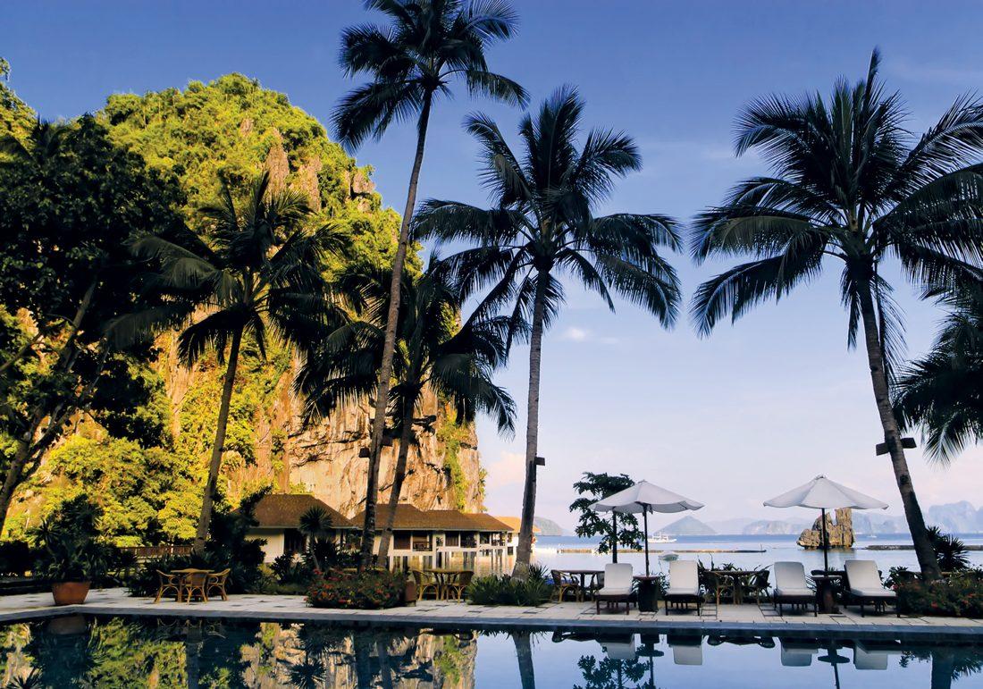 Chốn bình yên tại resort Lagen Island với những căn nhà gỗ nằm trên mặt biển