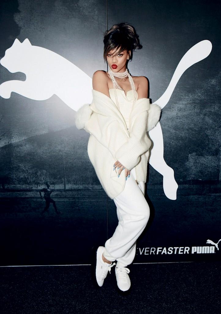 Rihanna là Giám đốc sáng tạo mới của hãng Puma
