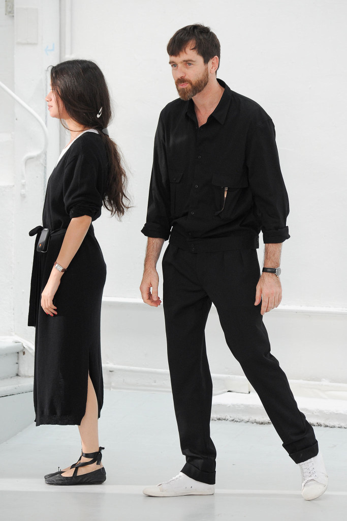 Sarah-Linh-Tran-and-Christophe-Lemaire-at-Lemaire-menswear-SS2015-683x1024