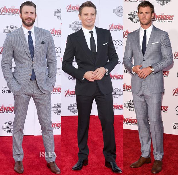 Avengers-Age-Of-Ultron-LA-Premiere-Menswear