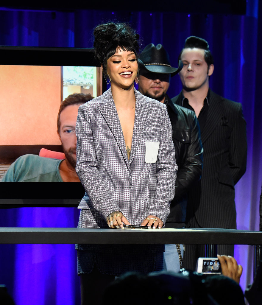 Rihanna-Wearing-Dior-Suit-2