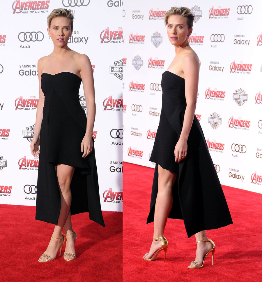 Scarlett-Johansson-avenger-premiere