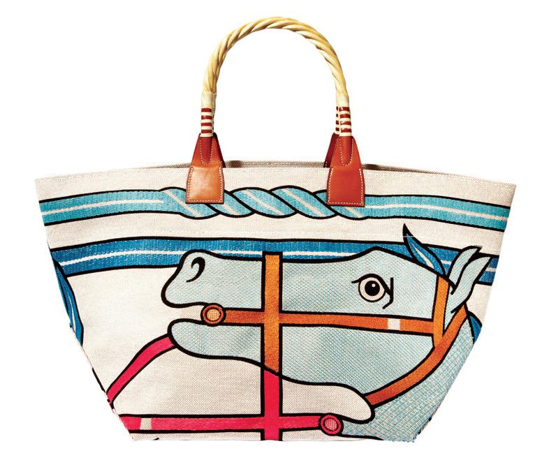 Túi tote in hình chú ngựa, Hermès