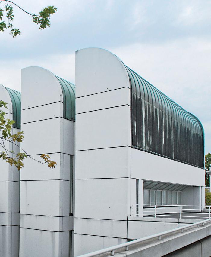 Trường Bauhaus ở Berlin, nay là bảo tàng Bauhaus-Archiv