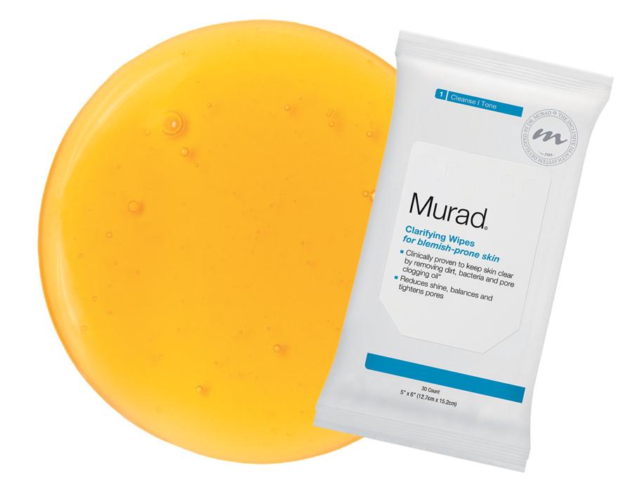 Khăn tẩy trang có chứa salicylic acid (Murad)