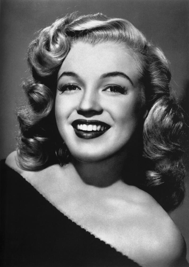 Marilyn Monroe sở hữu tỉ lệ nhân trắc tuyệt vời