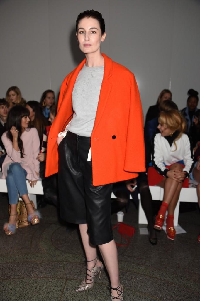 Topshop Unique show, Autumn Winter 2015, London Fashion Week, Britain - 22 Feb 2015