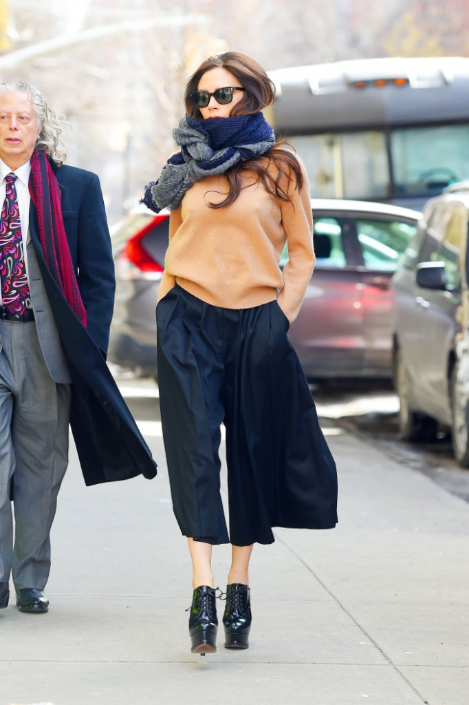 BuzzFoto Celebrity Sightings In New York - February 16, 2015