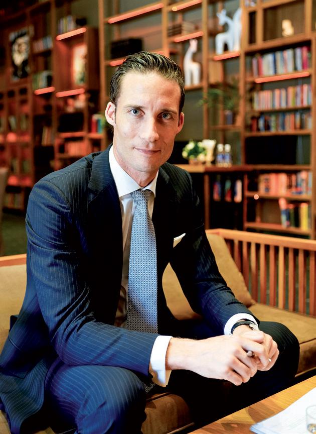 Chân dung anh Chris Neff - giám đốc điều hành Chopard khu vực châu Á.