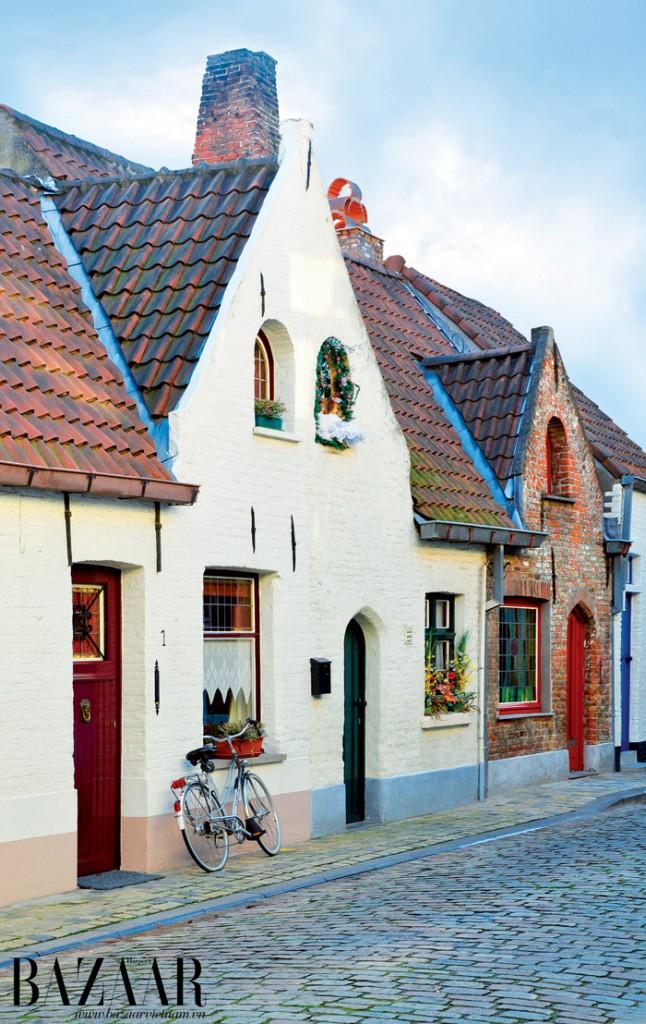 Xe đạp – phương tiện giao thông ưa thích của người dân xứ Bruges nói riêng và châu Âu nói chung