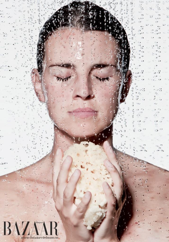 Cách rửa mặt bằng bột yến mạch