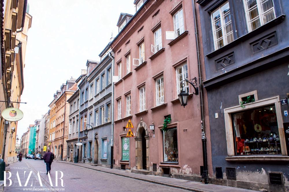 Đường trong khu phố cổ