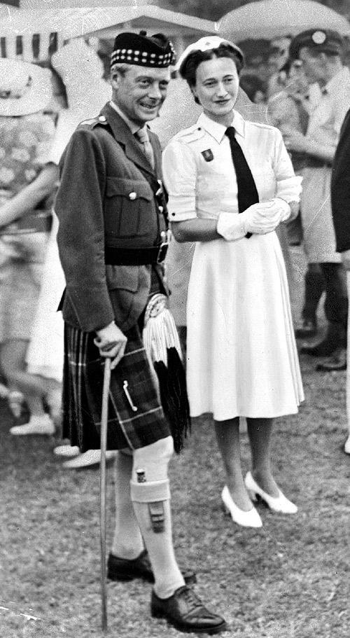 King Edward VIII Meet Wallis Simpson