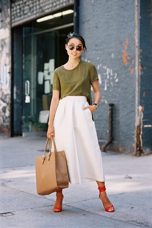 New-York-Fashion-Street-Style-Margaret-Zhang-Shine-By-Three-Complementary-Colors-And-Cutlottes-Via-Vanessa-Jackman-2
