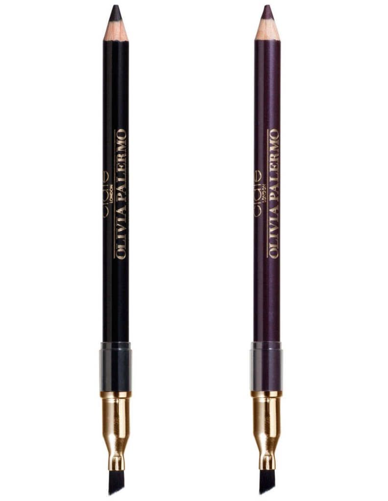 Smoked Out Gel Kohl Liners in Black and Fig, $20