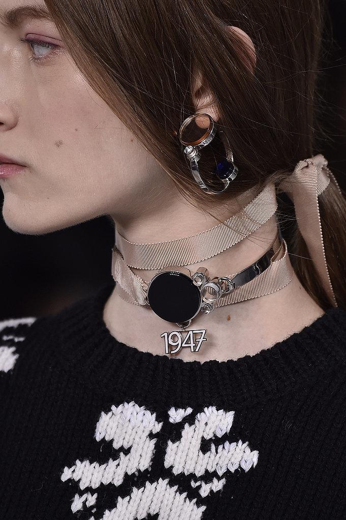Choker-Necklaces-Dior-spring-2016-show