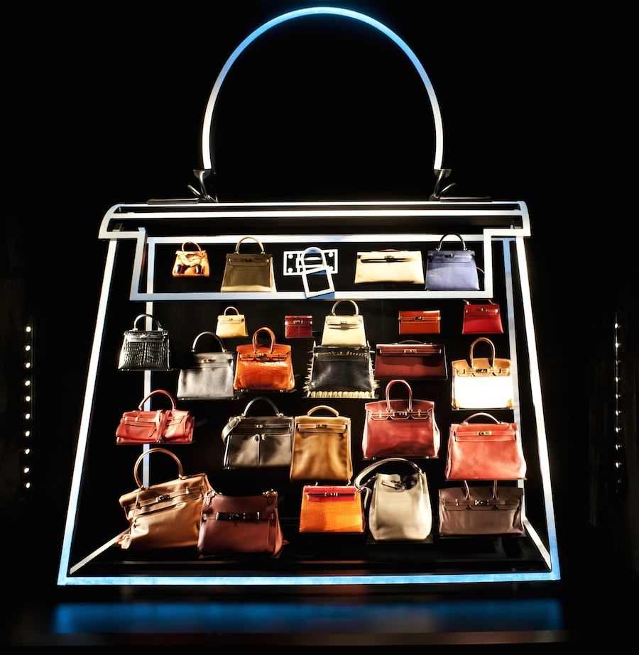 Neon-Kelly-Hermes-Leather-Forever-exhibition
