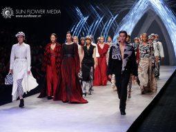 """Victoria Huyền Nguyễn tuyên bố """"I Hate Fashion"""" trên sàn diễn Vietnam International Fashion Week 2015"""