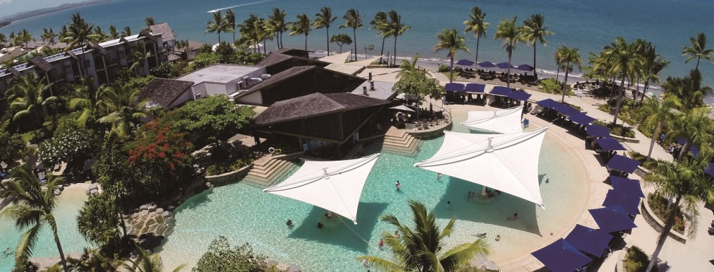 Resort Radisson Blu Fiji trên đảo Denarau