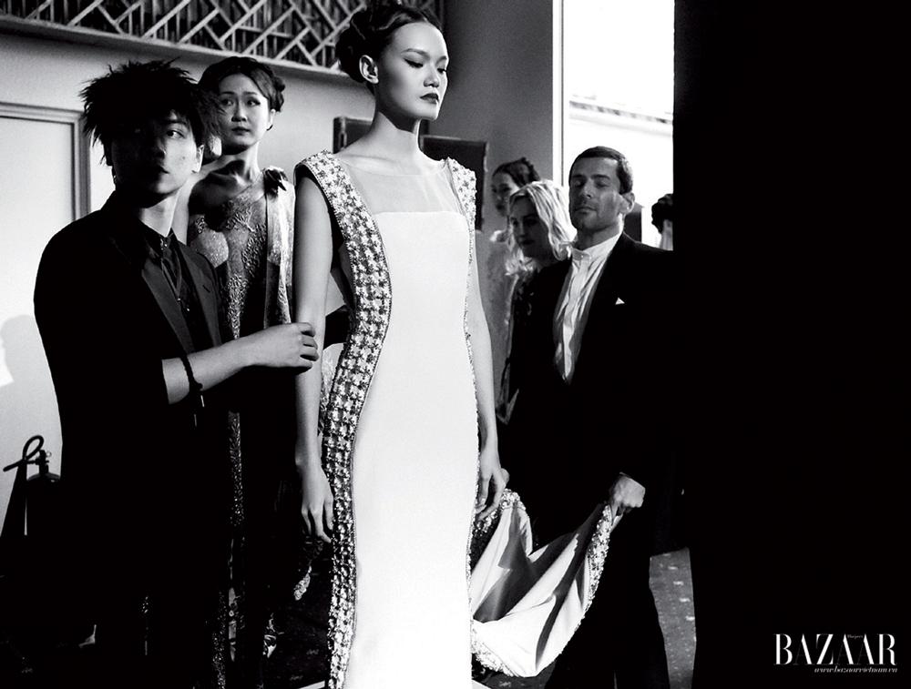 Alexis Mabille trong hậu trường Lynk Fashion Show. Ảnh: Kim Bánh Trôi Nước