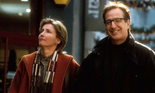 Harry in Love Actually-alan-rickman