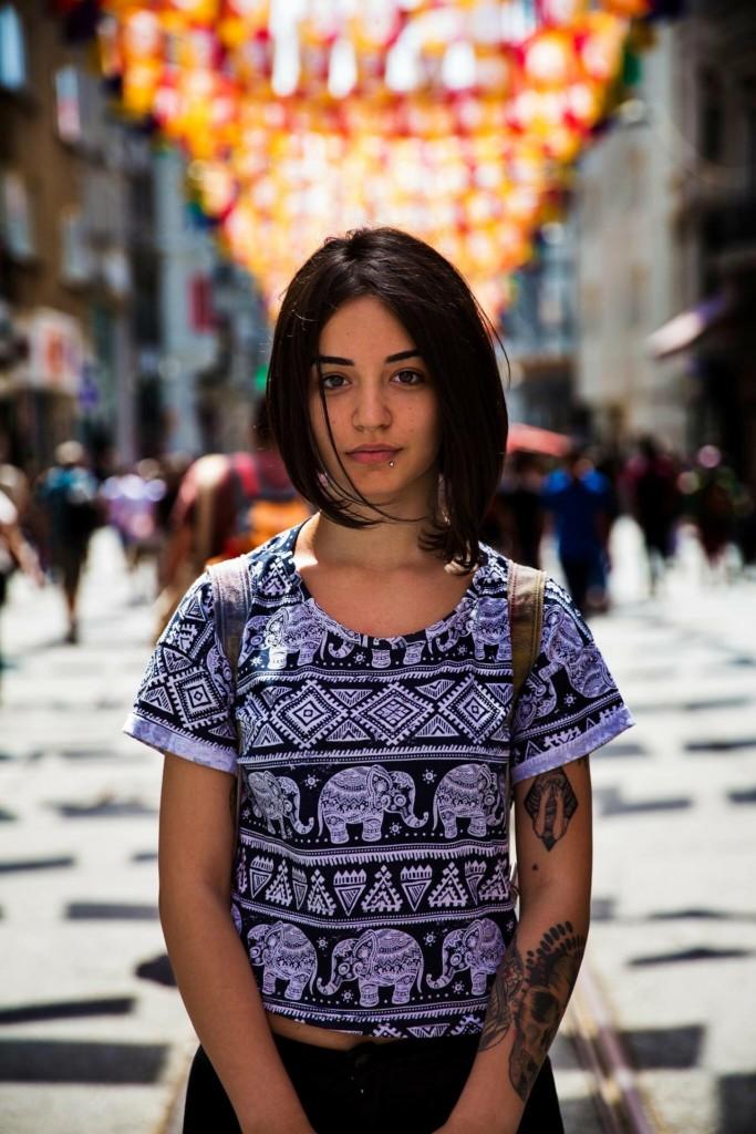 Cô gái Thổ Nhĩ Kỳ ở Istabul