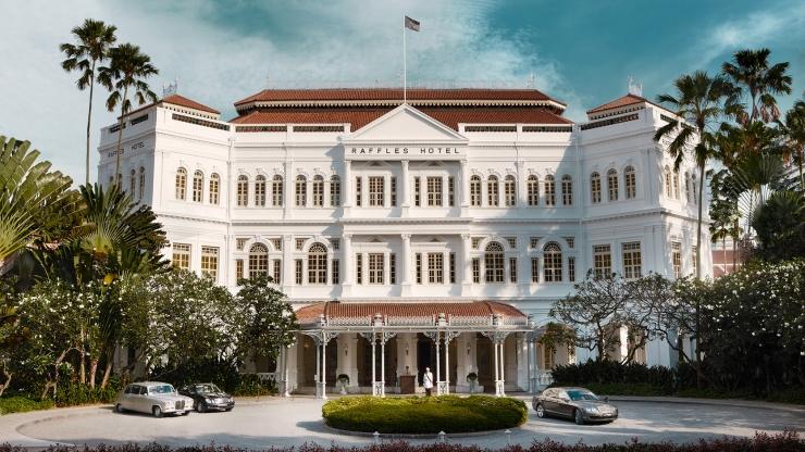 Khách sạn Raffles Singapore