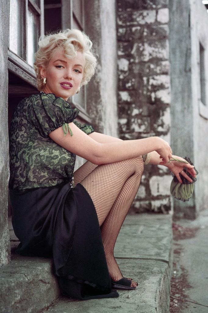 The Hooker Sitting, LA, 1956 © Milton H Greene / Archive Images