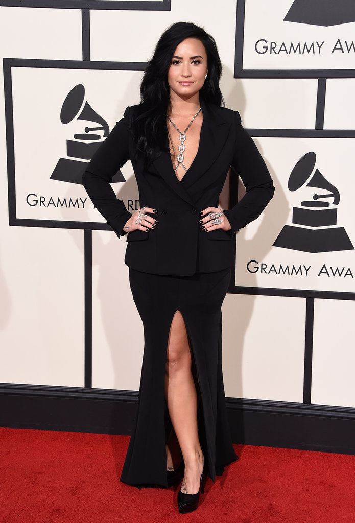 Demi-Lovato-Grammy-bestdressed-2016