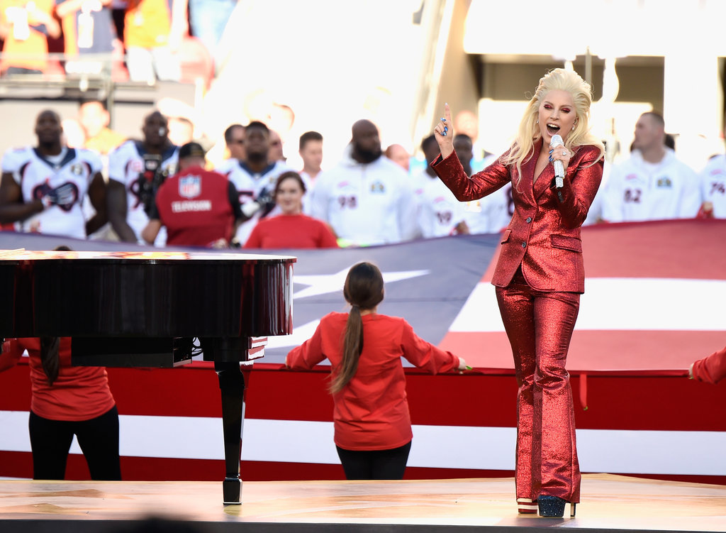 Lady-Gaga-Red-Gucci-Suit-Super-Bowl (5)