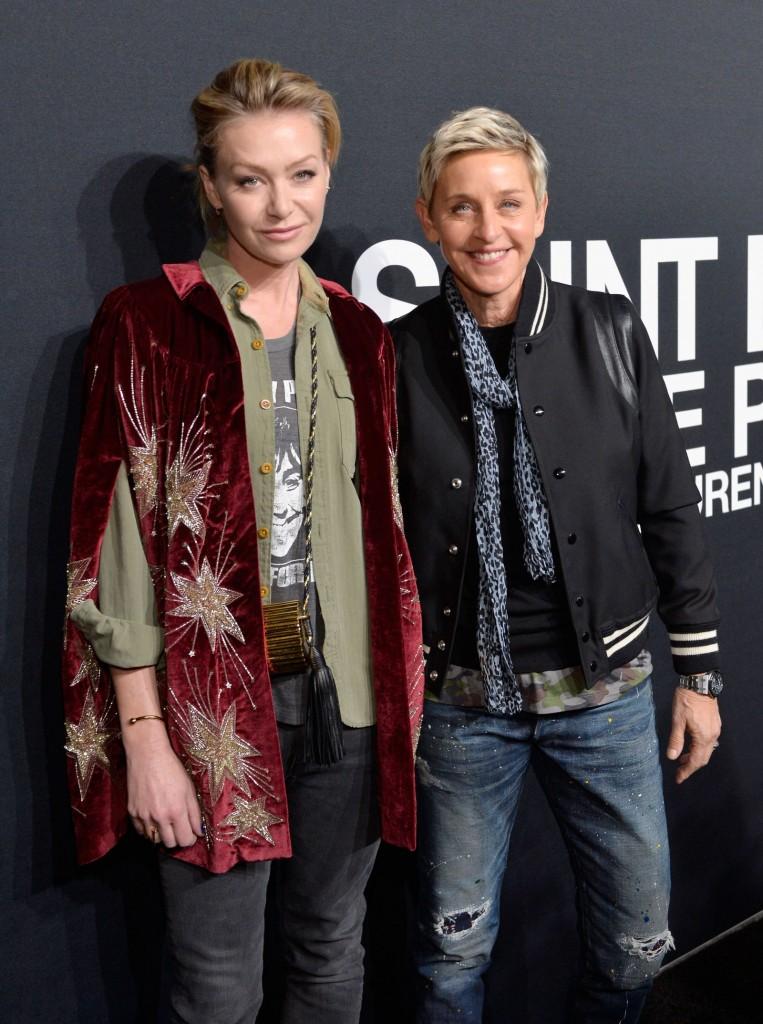 Cặp đôi Ellen Degeneres và bạn đời Portia