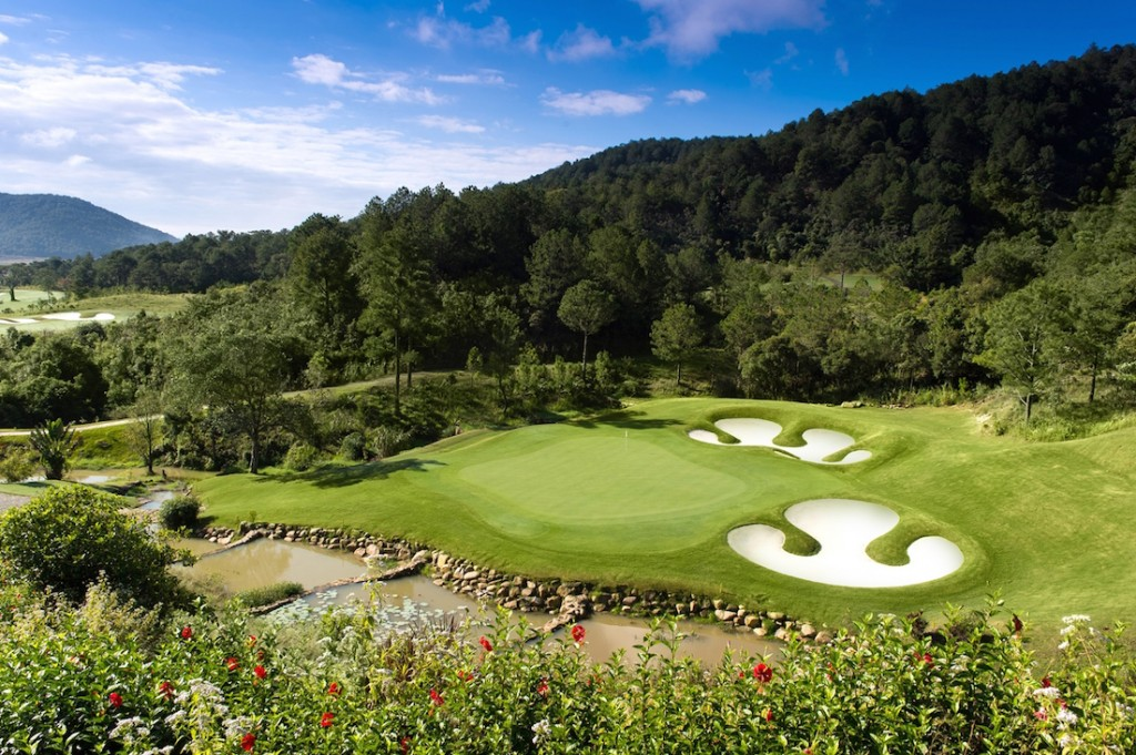 Sân Golf đẹp tuyệt ở Đà Lạt
