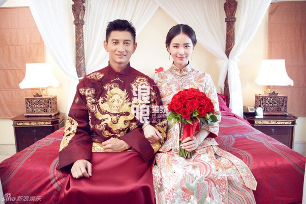 Ngô Kỳ Long và Lưu Thi Thi trong trang phục truyền thống