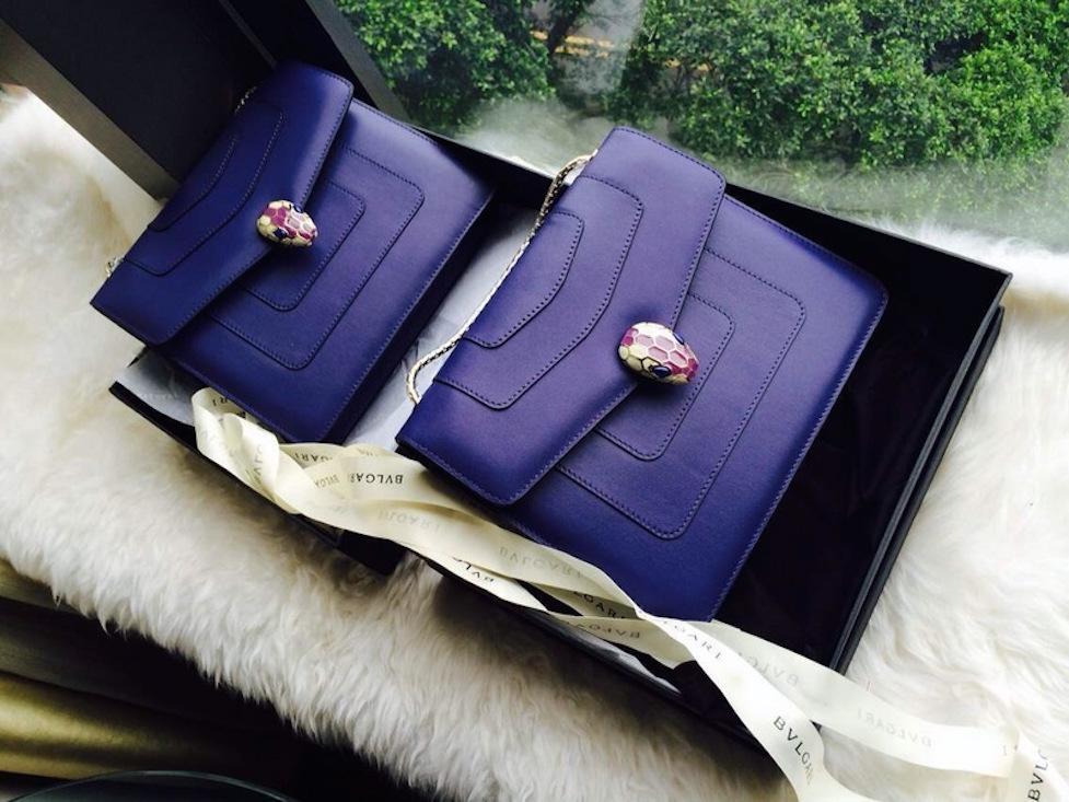 Một thiết kế tiêu biểu của chiếc túi Bulgari Serpenti Forever