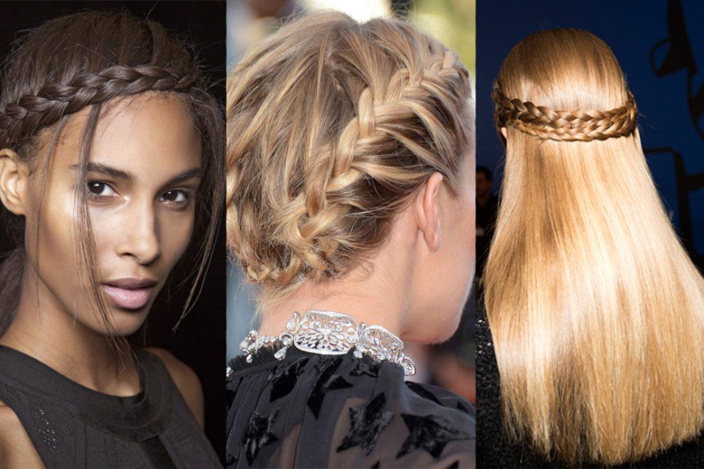 Những kiểu tóc đi chơi đáng yêu nhất:Vương miện bện