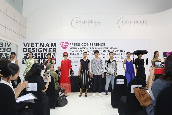 VDFW Xuân Hè 2016 hứa hẹn sẽ mang đến những bộ sưu tập mãn nhãn giới mộ điều thời trang tại Việt Nam